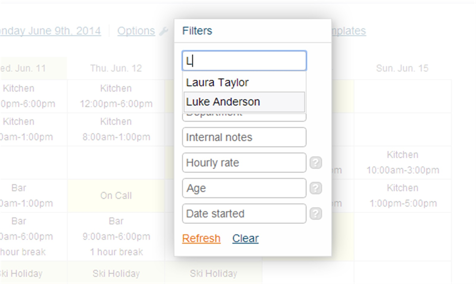 Auto-complete Now Available with Filters